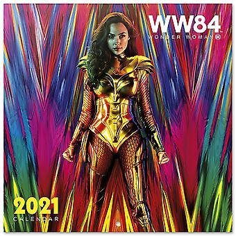 Wonder Woman Kalender 2021 WW84 Officiële Kalender 2021, 12 maanden, originele Engelse versie.