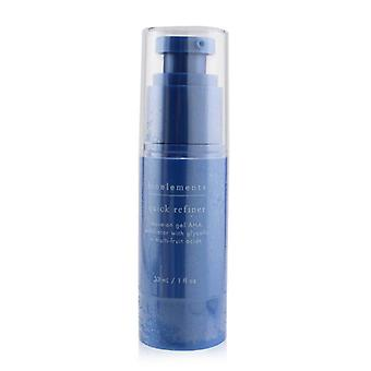 Bioelements Quick Refiner - Leave-On Gel AHA Exfoliator with Glycolic + Multi-Fruit Acids - For All Skin Types, Except Sensitive 30ml/1oz
