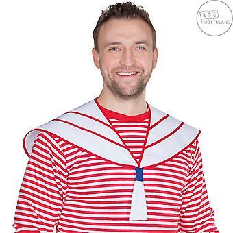 Sømandsmand sømand tilbehør sømand rød og hvid