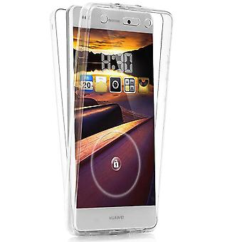 Shockproof Shell for Huawei P8 Lite Silicone Mobile Case Phone Clearly Transparent