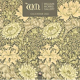 William Morris Gallery Wall Kalender 2021 Art Calendar door Gemaakt door Flame Tree Studio