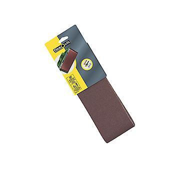 Flexovit Cloth Lixamento Correias 610 x 100mm 80g Médio (Pacote de 2) FLV26478