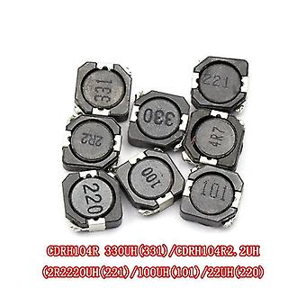 Smd Power Inductor Cdrh104r 10uh 22uh 33uh 220 330 331 10*10*4mm Shielded Winding Inductor