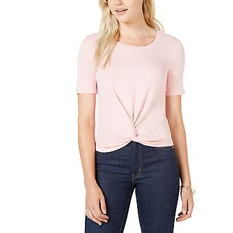 Maison Jules | Short-Sleeve Twist-Front Top