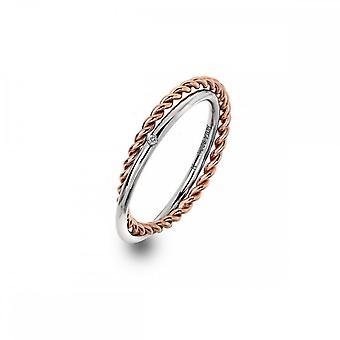 Hot Diamonds Unity ring rose gull DR211