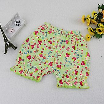 Baby Girls Middler Waist Elastic Fashion Shorts Children Underwear Clothes