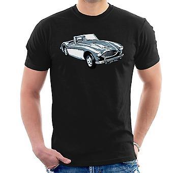 Austin Healey 100 Sechs britische Motor Heritage Männer's T-Shirt
