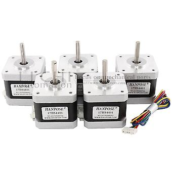 40mm Nema17 Stepper Motor 42 Motor Nema 17 Motor 42bygh 1.7a (17hs4401) Motor 4-lead  For 3d Printer