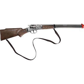 CAP GUN  - 98/0 - Gonher Cowboy Rifle 8 Shots
