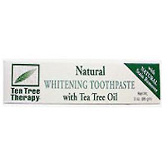 Tea Tree Therapy Natural Whitening Toothpaste, 3 OZ EA
