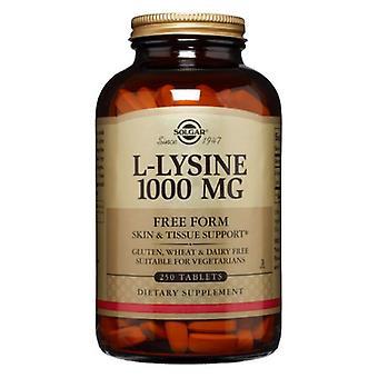 Solgar L-Lysine 1000 mgs, 250 Abas