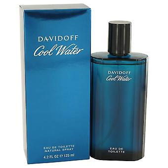 Agua fresca Eau De Toilette Spray por Davidoff 4.2 oz Eau De Toilette Spray