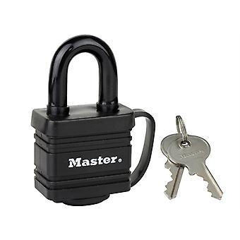 Master Lock Sää Kova 40mm riippulukko Musta Viimeistely MLK7804