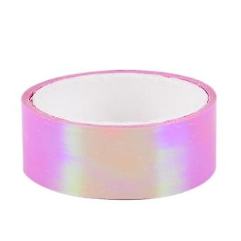 500cm Rhythmic Gymnastics Decoration, Holographic Rg Prismatic Glitter Tape