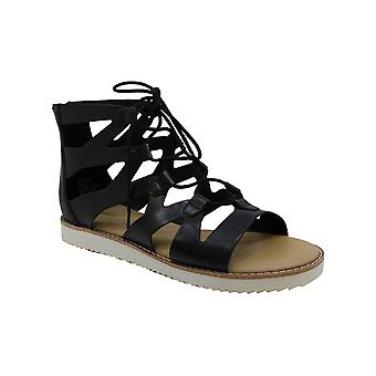 Madden Girl Womens Maxii Fabric Open Toe Casual Strappy Sandals