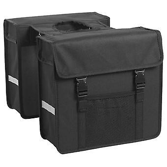 7-series Double bike bag 26 L Black
