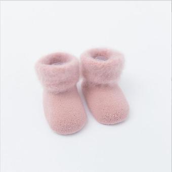 Liukumaton Vauvan lattiasukat - Talvi paksu vauvan froteesukat