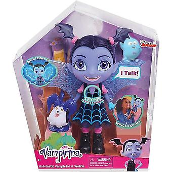 Disney JP Vampirina Bat-tastic Vampirina and Wolfie Talking Figure Set JPL78040