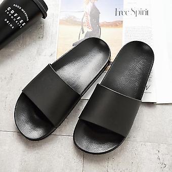 Summer Men Slippers Simple Non-slip Bathroom Slides Flip Couples Shoe