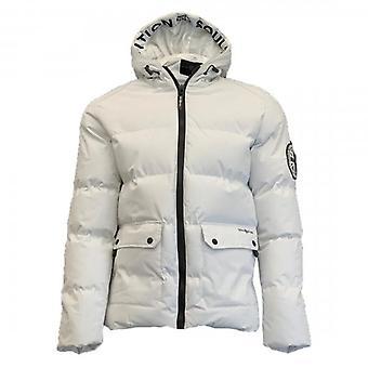 Soul Star Beaufort Puffer Jacket White