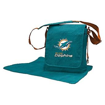 Miami Dolphins NFL LilFan Diaper Messenger Bag