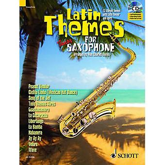 Latin Themes for Tenor Saxophone by Created by Max Charles Davies