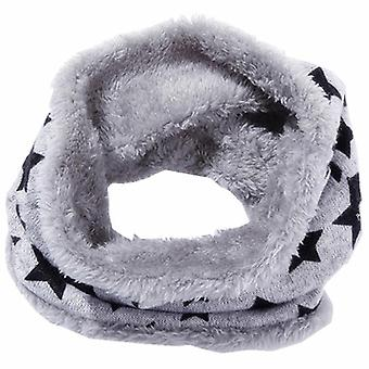 Autumn, Winter Scarf, Kids O-ring Scarves, Knitted Plush,, Collars Warm