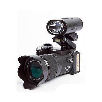 プロフェッショナルな一眼レフデジタルカメラ-24倍光学ズーム、3つのレンズ