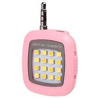かわいいセルフレンズ写真ソケット LED リングライトポータブルモバイルセルフランプ