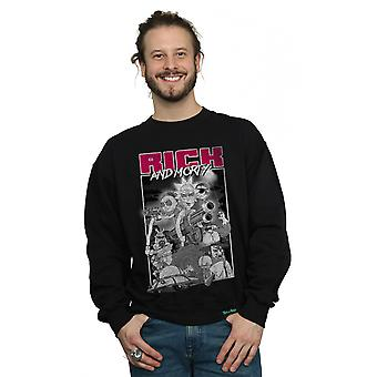 Culte absolue hommes Rick et canons Morty Sweatshirt