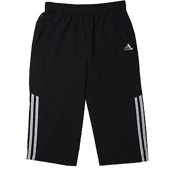 Adidas Performance Climacool Woven 3/4 Boys Black Polyester Pants F48487 DD50