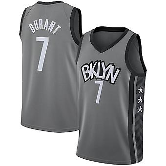 Brooklyn Nets No.7 Kevin Durant Loose Basketball Jersey Sport Shirts 3QY049