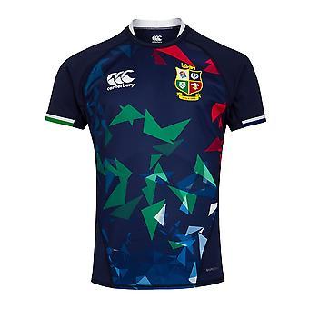 Canterbury Brittiska & Irish Lions Rugby Training Jersey | Mens | Peacoat Blå | 2021