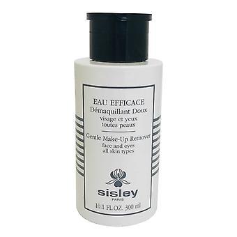 Sisley Gentle Makeup Remover Eau Efficace 300ml Visage et Yeux Tous les types de peau