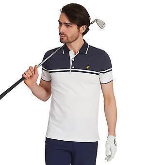Lyle & Scott Mens Croft Stretch Wicking Soft Golf Polo Shirt