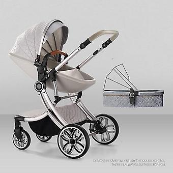 New Baby Stuller Set Eggshell Carriage Newborns Folding Luxury High Landscape