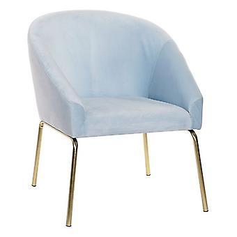 Dining Chair Dekodonia Ruth Velvet (71 x 63 x 87 cm)