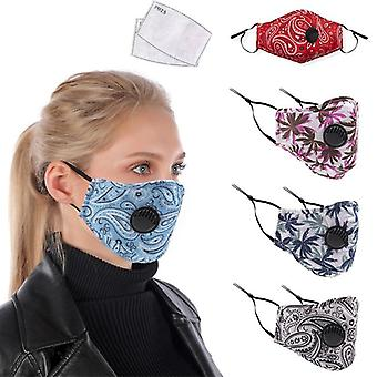 Reusable Fabric Cotton Adult Camouflage Mask
