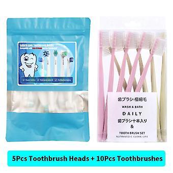 Ersatz-Zahnbürstenköpfe mit Schutzabdeckungen
