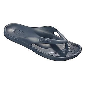 BECO V-Strap Navy Pool Slippers for Women-37 (EUR)