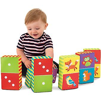 Galt Toys, Soft Dominoes, Soft Play Set, Ages 6 Months Plus