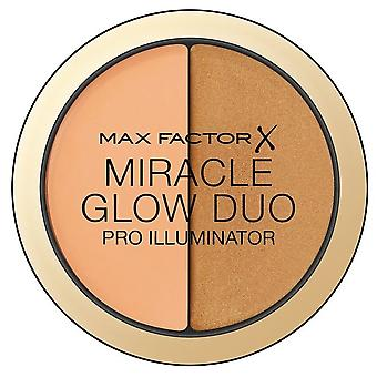 Max Factor Illuminator Miracle Glow Duo 30 Deep 11 gr (Make-up , Gesicht , Highlighter)