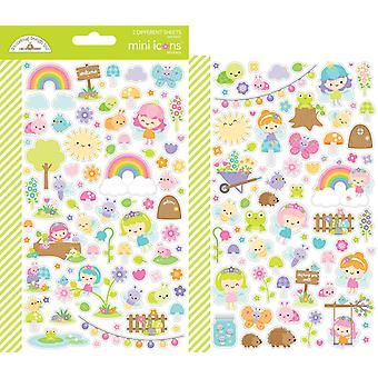 Doodlebug Design Fairy Garden Mini Icons Sticker