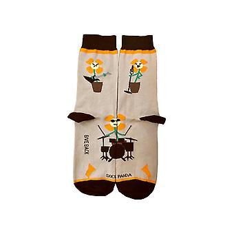 Hauska kukka rock bändi sukat sukka panda