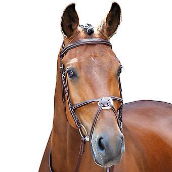 Salisbury Brackley Læder Stitch Horse Bridle