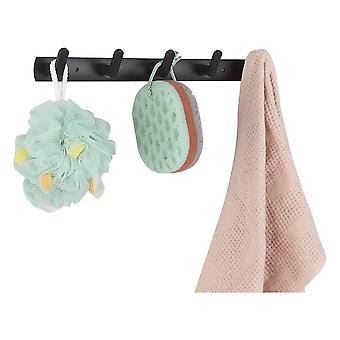 Clothes Rack Holder Punch-free Bathroom Towels Storage Wall Hooks