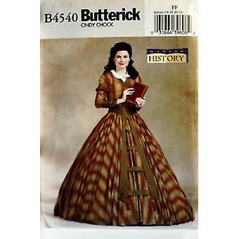 Butterick نمط الخياطة 4540 يفتقد الفيكتوري زي أعلى وتنورة حجم 18-22