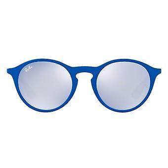 Ray-Ban bleu lentille gris Gunmetal lunettes de soleil RB4243-62631U-49