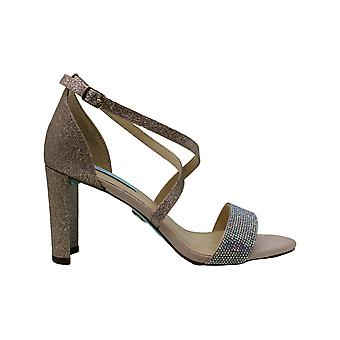 Betsey Johnson Womens Bella Open Toe Casual Ankle Strap Sandals