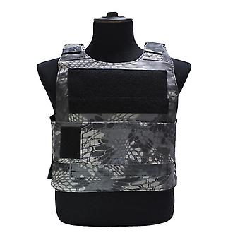 Sport vest, down body armor plaat tactische carrier vest